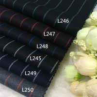 High grade suiting worsted wool wool Japan color suit fabric clothing fabric suit trousers and thick