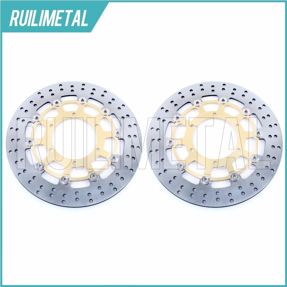 Передние тормозные диски роторы для Suzuki GSX R 600 GSX R 750 GSX R 1000 09 10 11 12 13 1 4 1 5 2009 2010 2011 2012 2013 2014 2015