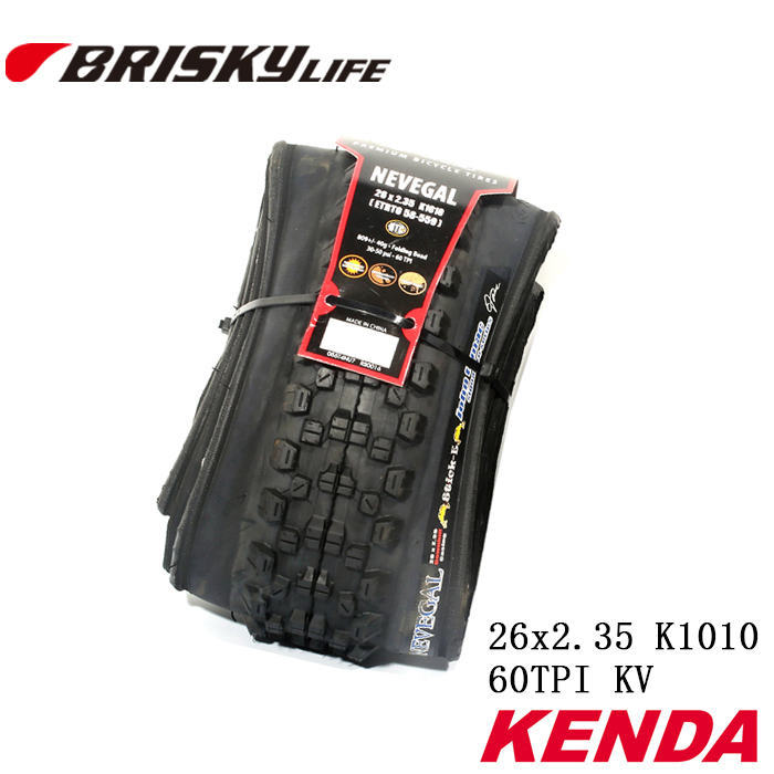 Free shipping Kenda high quality mountain bikes folding tires 26x2.35 k1010 for MTB free shipping original kenda k150 27 5 2 35 tire for mtb mountain bike bicycle inner tube tires trye bicycle parts