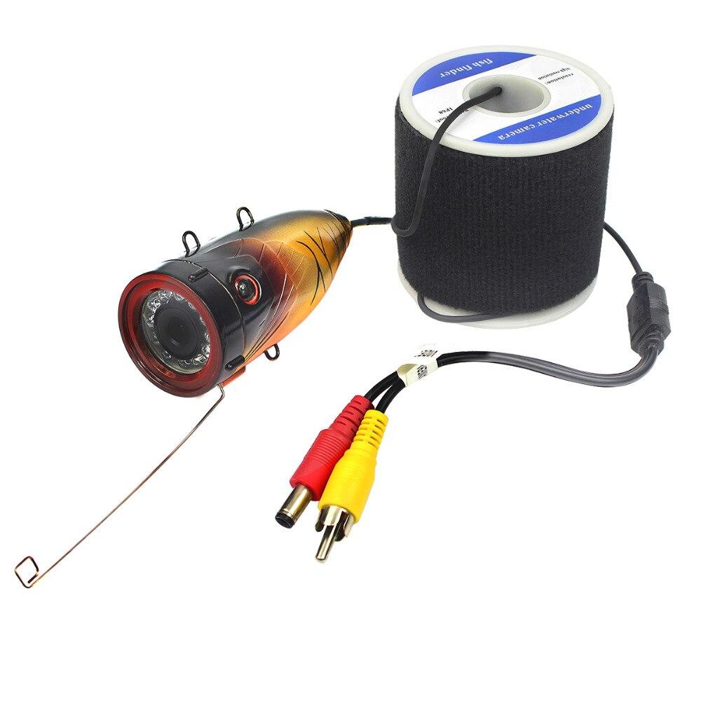 Free shipping 20m waterproof underwater fishfinder ocean for Underwater camera fishing