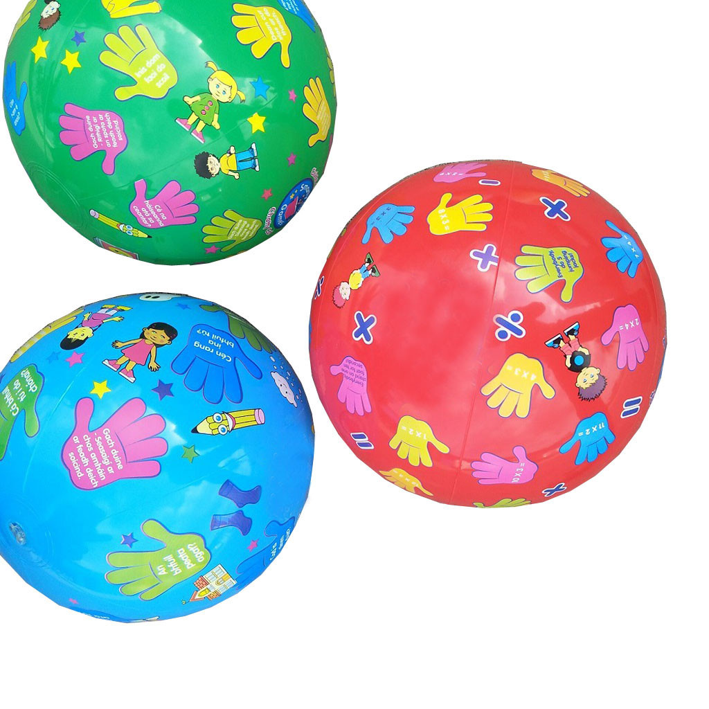 Inflatable Beach Ball Classic Pool Party Favors Summer Water Toy Water Balloons For Children Kids