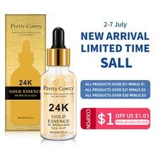 Pretty Cowry 24K Gold Tense Увлажняющая эссенция против морщин Золотая никотинамидная жидкая эссенци
