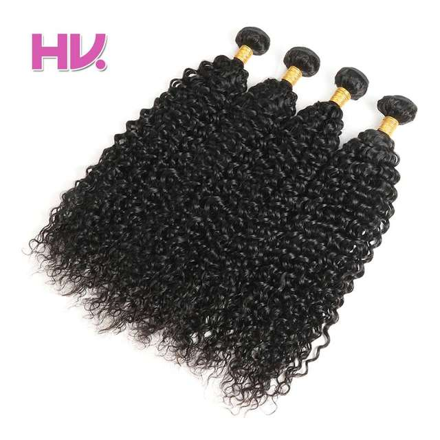 Hair Villa Brazilian Water Wave Human Hair Bundles Remy Hair