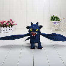 2019 3 Anime Como treinar O Seu Dragão Desdentado Fúria Da Noite plush toys Hideous Zippleback Pesadelo Monstruoso Stuffed Toy dolls(China)