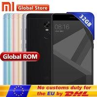 Original Xiaomi Redmi Note 4X 4 X Mobile Phone Snapdragon 625 Octa Core 5 5 FHD