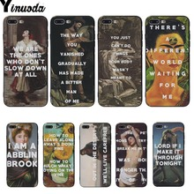 Yinuoda Oil painting black Soft shell Phone Case For iphone 6 6s 6plus 6S plus 7 7plus 8 8plus 5 5S SE X XS XR XSMAX