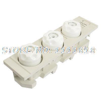 E33 3 pôles AC 690 V 63A Protection contre les surcharges vis porte-fusible Base