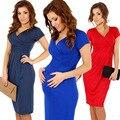 2017 venda quente novo slim com decote em v pacote hip modelos grávidas enfermagem grávida dress moda gestante sexy elasticidade dress