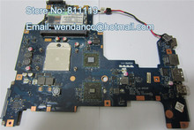 Free shipping K000103980 NALAE LA-6053P for L675D laptop motherboard HD3200 DDR3