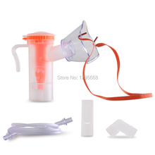 BOTH for  Children &Adult  Household Disposable Atomizer Mask  Containing Atomizing Cup Connecting pipe Nebulizer Inhaler