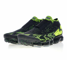 "Nike Air Vapormax FK Moc 2 ""Acronym"" Men's Running Shoes, Outdoor Sneakers Shoes,Black & Green, Non-slip Breathable AQ0996 007"