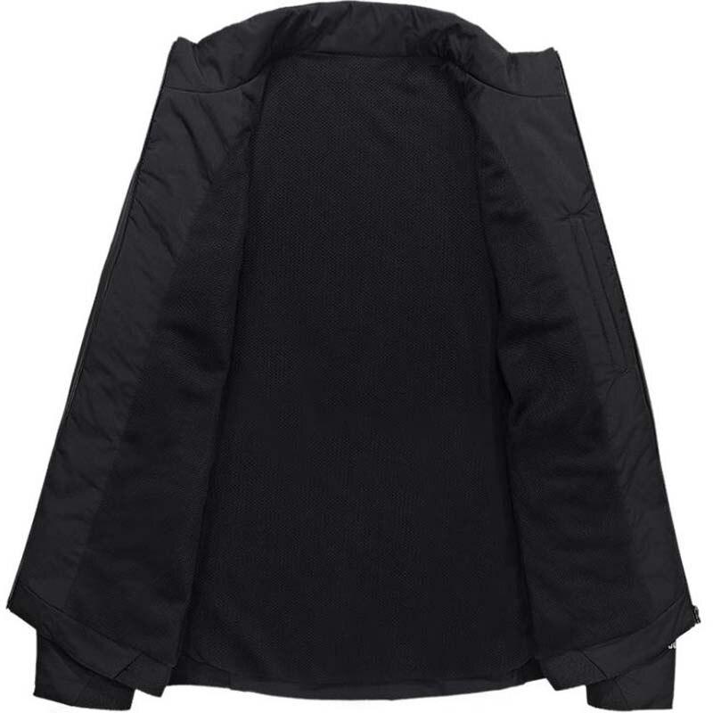 Taille Nouveau Col Printemps Black Manteaux Blue Droites Survêtement Montant D'affaires Hommes 3xl grey Asie Mince Occasionnel dark Casual Vestes Veste Poche r7gnwSrxq