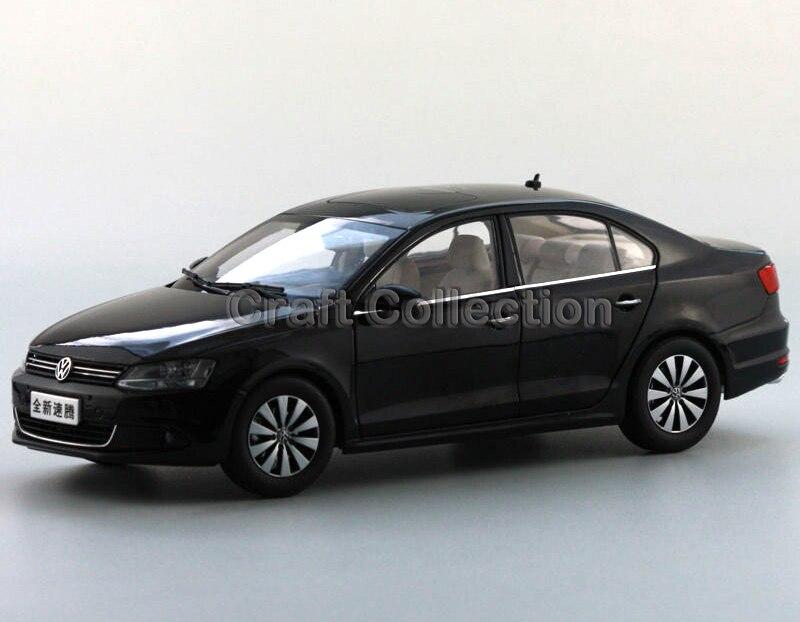 * Black 1:18 Volkswagen VW Sagitar 2012 Jetta Euro Diecast Model Car Metal Sedan Modell Autos Festival Gifts Mini Vehicle