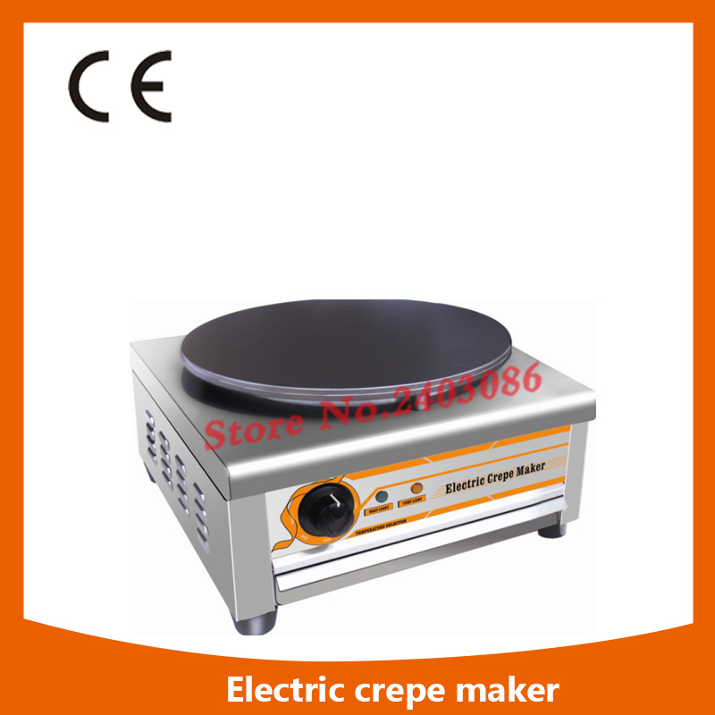 все цены на Ce Approval Commercial Single Plate electric Crepe Maker Machine/electric  Crepe Making Machine,electric  Crepe Maker Machine онлайн