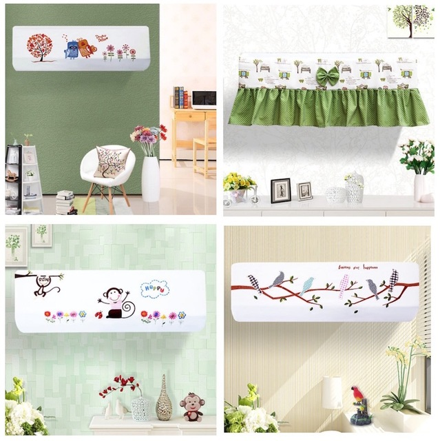 Working Air Conditioner 15p Wall Mounted Indoor Cover Decoration