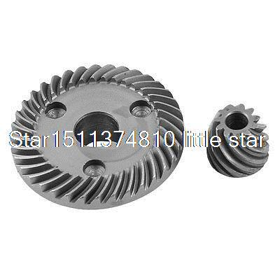 цена на Angle Grinder Repair Part Spiral Bevel Gear Set for Makita 9553