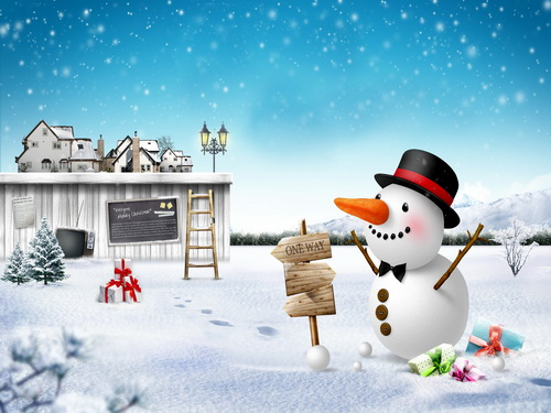 Customize washable wrinkle free New year house snowman photography backdrops for kids photo studio portrait backgrounds HG-380 customize washable wrinkle free new york scenery photography backdrops for kids stage photo studio portrait backgrounds hg 373