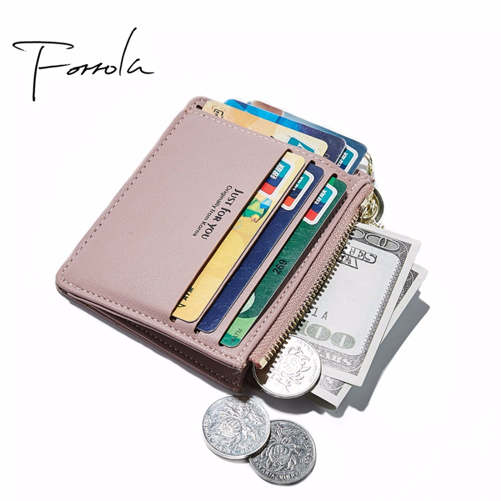 Latest Fashion Women Coin Purses Holders Slim Cash Credit Card Holder Wallet Girls Key Chain Money Kids Leather Purse 5 Colors hot sale owl pattern wallet women zipper coin purse long wallets credit card holder money cash bag ladies purses