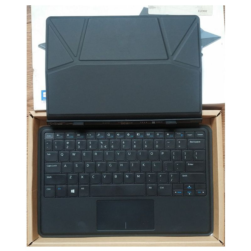 GZEELE New for Dell Venue 11 Pro 5130 7130 7139 7140 Series Slim Tablet Keyboard Dock