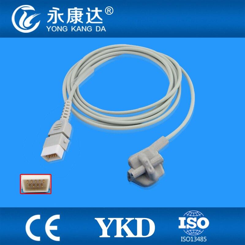 Compatible  BCI Pediatric Soft Tip SpO2 Sensor / Spo2 Probe Oxygen Sensor ,9PIN, DB9Compatible  BCI Pediatric Soft Tip SpO2 Sensor / Spo2 Probe Oxygen Sensor ,9PIN, DB9