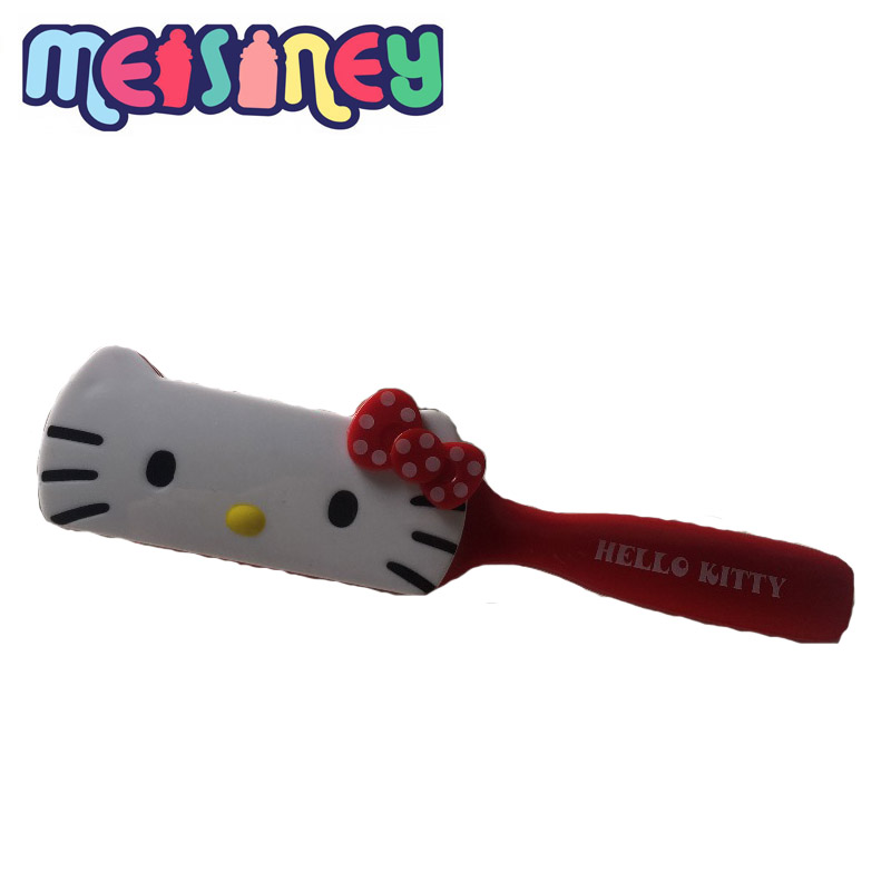 Meisiney Cute red cat cartoon children comb anti-static, airbag massage comb, air volume, Kids fashion Gift