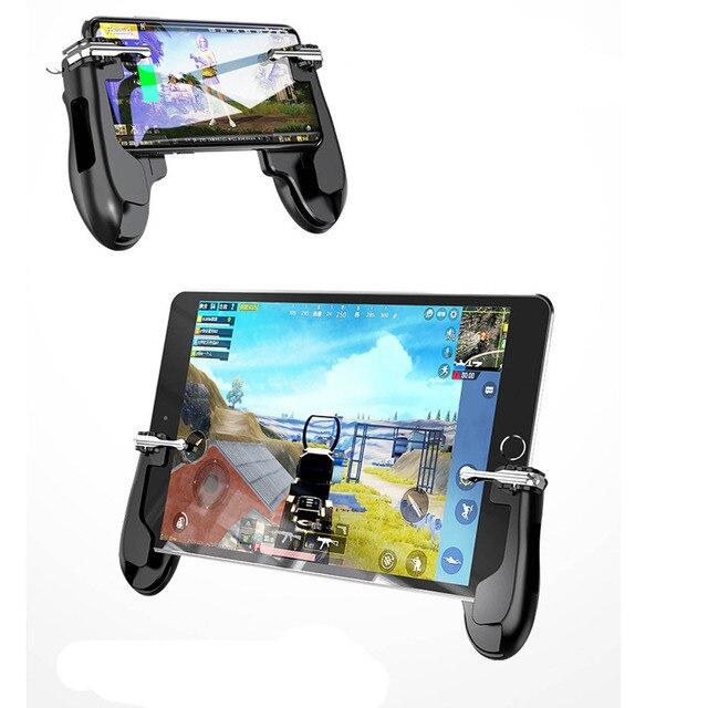 Universal mobile game controller gamepad pubg mobile controller pubg for pubg ipad  & iphone & android phone grip games trigger