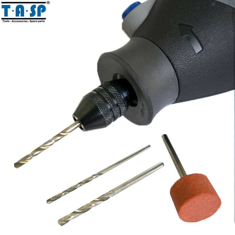 TASP Universal 3 Jaw Keyless Mini Chuck 0.5-3.2mm Collet Mini Drill - パワーツールアクセサリー - 写真 3
