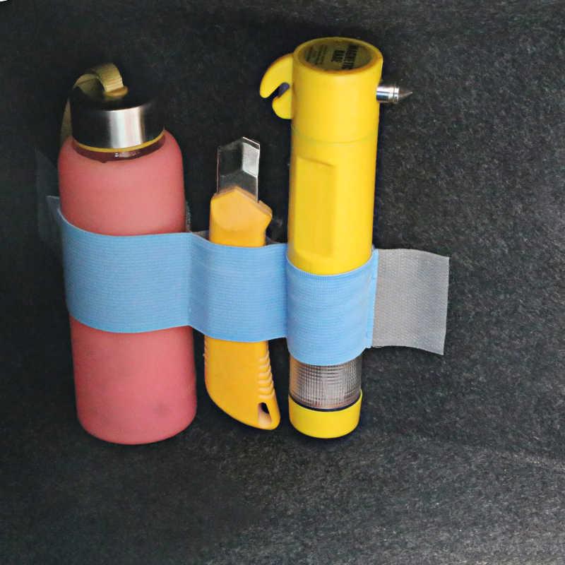 سيارة المنظم جذع تخزين حزام من النيلون تحديد الشريط ل إنفينيتي ميتسوبيشي ASX أوتلاندر لانسر 10 فورد فوكس 2 3 MK2 كوجا