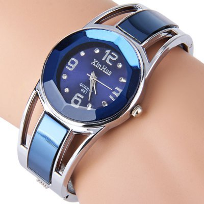 Fashion Brand Dress Ladies Bracelet Watches for Women Diamond Stainless Stainles