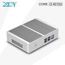 Mini PC Core i3 4010u Four Usb 3.0 Bluetooth WIFI Mini Computer micro sd Desktop HTPC Fanless PC Multi-function computer