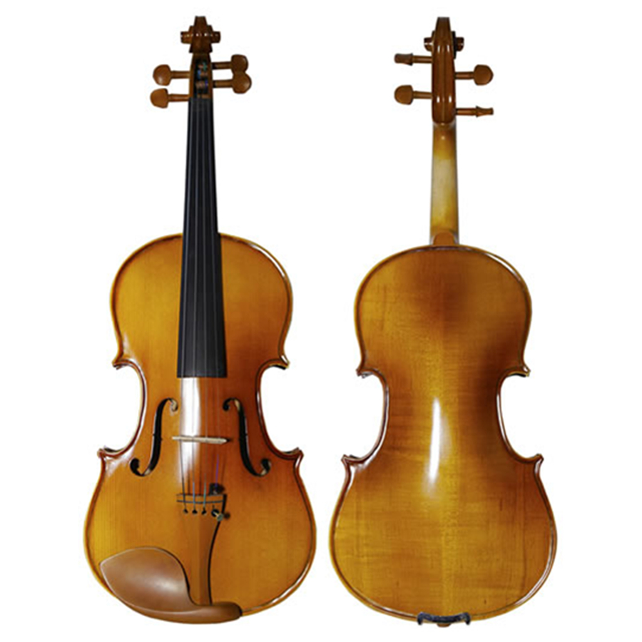 Students Maple Violin Stringed Musical Instrument with Case Bow Strings Full Set Jujube Wood Accessories TONGLING Brand alice a704 senior performance violin strings set