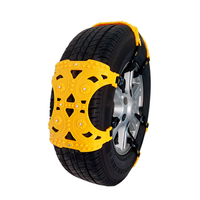 Universal car tyre snow chain Automobile tyre anti skid chain 6pcs per package TPU material Wear and durable Car/SUV outdoor use