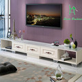 European simple telescopic TV cabinet tea table