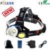 7000 Lumens LED Head Torch Headlamp T6 + COB Headlight USB Frontal Light LED Head Lamp Flashlight Torch 18650 Battery