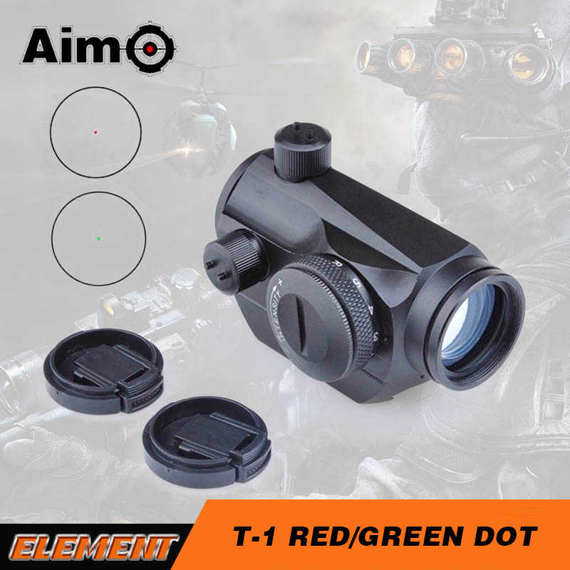 Aim-O Red Dot Hunting Rifle Scope Optische Jacht Sight Optics Fit 20mm Rail Red Dot Sight AO5013