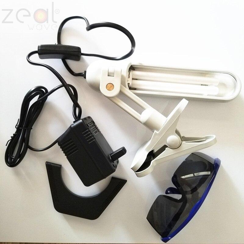 Image 4 - Do lampy UVB PL S 9 W/01/2 P 9 W wąskie paski 311nm PLS9W/01/2 P fototerapia łuszczyca do bielactwa 110V 220V zestawEkrany LCD i panele do tabletów   -