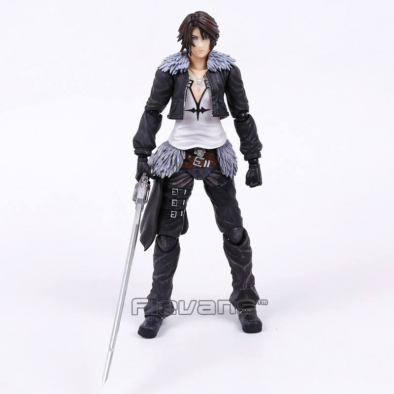 Paly Arts Kai FINAL FANTASY DISSIDIA Squall Leonhart PVC Action Figure Collectible Model Toy