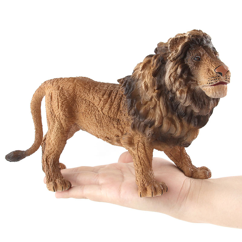 Toy Bauble-Toy Large Simulation Animal-Model Gift Early-Education Child Original Forest