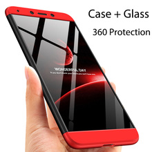 3-in-1 Case 360 Tempered Glass + Case Xi