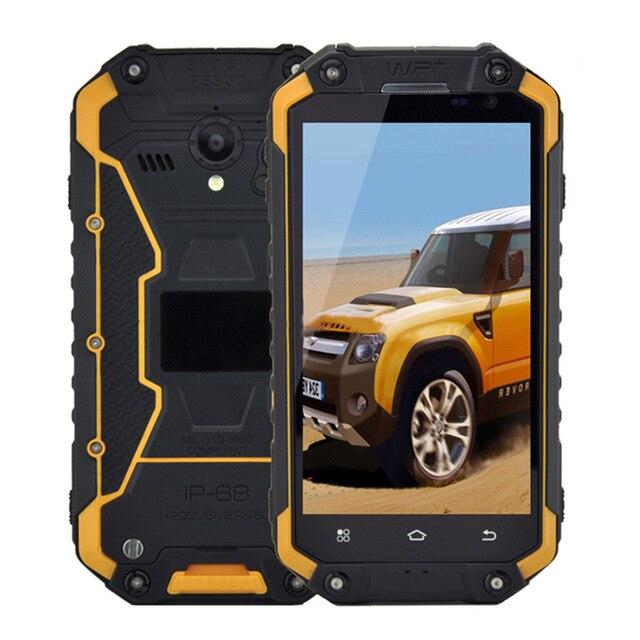 Original GuoPhone X8G Phone 4 7 IP68 MT6735 Quad Core Android 5 1 3G GPS 2GB