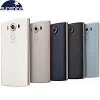 Original Unlocked LG V10 4G LTE Mobile Phone Hexa Core 5.7'' 16.0MP 4GB RAM 64GB ROM Android Smartphone