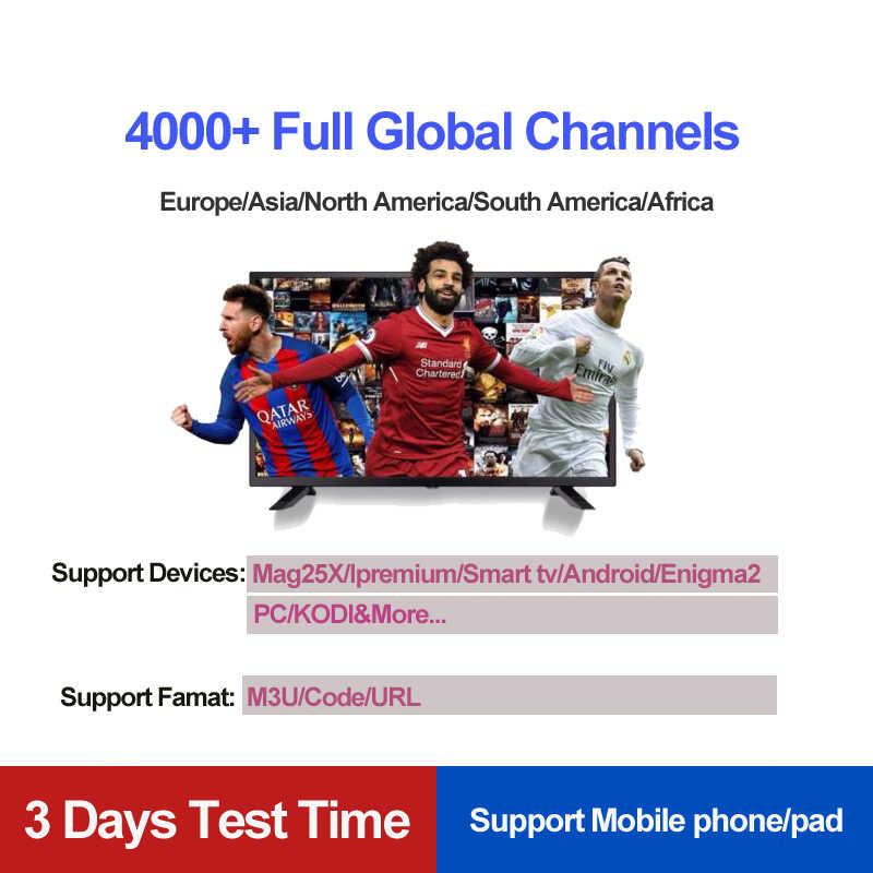 США, Канада, Северная Америка Iptv M3U enigma2 модная взрослая 1/3/6/12 месяц IPTV подписка 4000 + Каналы для Mag 254 250 256 коробка HTV
