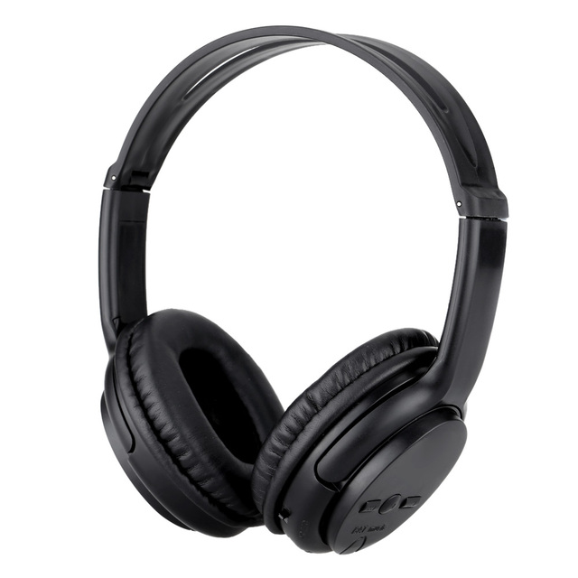Wireless Bluetooth Headphone Headset Support FM Radio TF Card MP3 Player with Mic for Computer Mobile Phone Tablet PC Smartphone