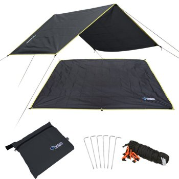 цена на 4-6 Persons Ultralight Multifunctional Waterproof Camping Mat Tent Tarp Footprint Ground Mat For Outdoor Camping Hiking Picnic