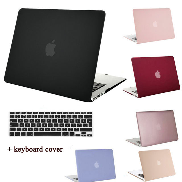 MOSISO For Macbook Air 13 11 Plastic Hard Cover Case For Mac Book Air 11.6 13.3 inch Laptop Shell Cover+Keyboard Protector Film