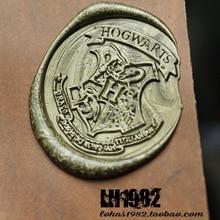 Hogwarts Malfoy Gryffindor Slytherin Customize Wax Seal Stamp Luxury Gift Wood Box