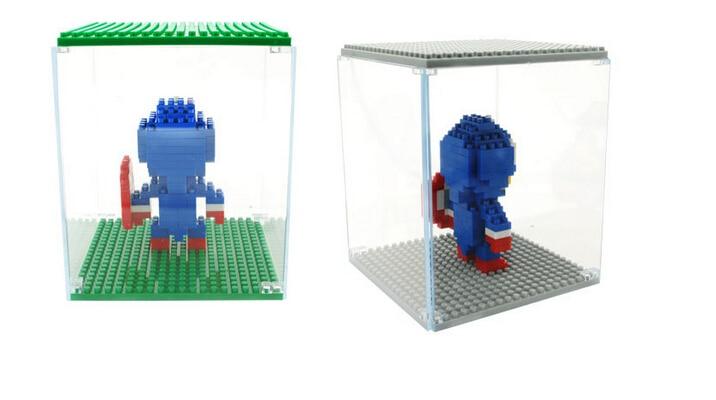 Borong Weagle Diamond Blok Kotak Paparan untuk Spongebob Hellokitty - Mainan pembinaan - Foto 6