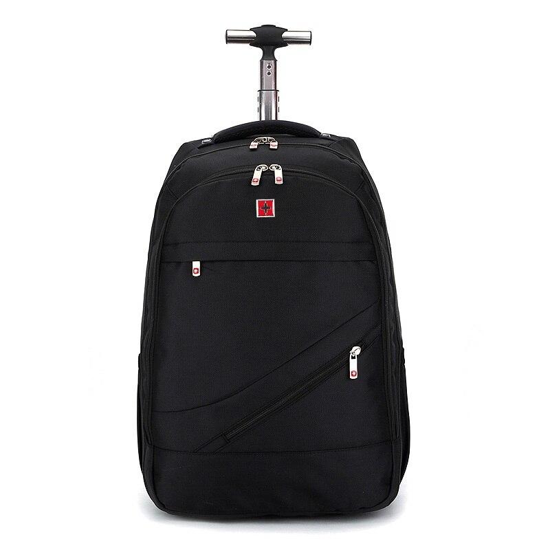 New Fashion Hot Black font b Oxford b font Trolley bag 18 inch Men and Women