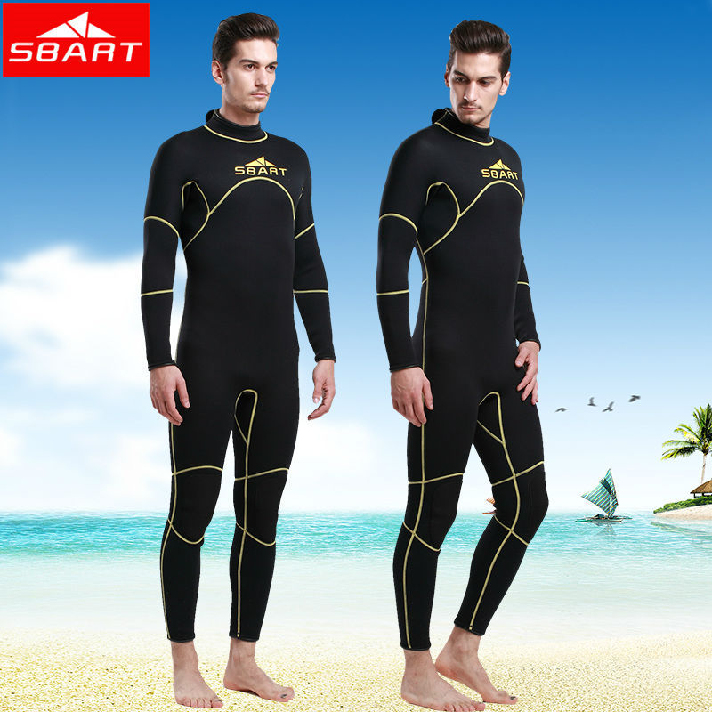 SBART  New Arrival Wetsuit 3MM Neoprene Surf Wet Suit For Swimming Diving Equipment Spearfishing Traje De Buceo 2XL 1016 N sbart upf50 rashguard 2 bodyboard 1006
