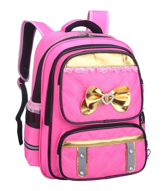 2017 New Children School Bags For Girls Orthopedic kids Backpack Primary School Backpacks schoolbag satchel Mochila Infantil Zip